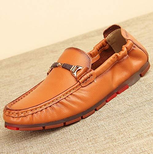 Business Nuovo Formale Da Superficiale Leggero Bocca Di Scarpe Uomo Scarpe Scarpe Pelle Uomo A 41 Piselli Scarpe WpxUwqzxXT