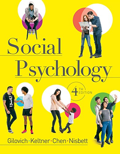 Social Psychology (Fourth Edition) cover