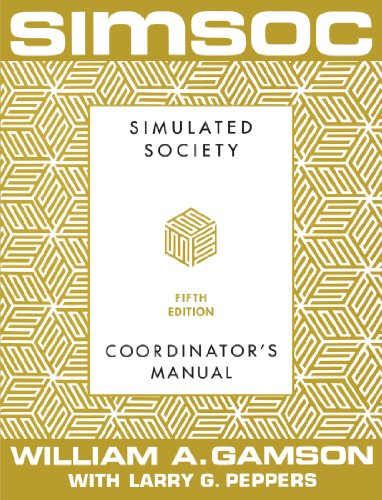- SIMSOC: Simulated Society, Coordinator's Manual: Coordinator's Manual, Fifth Edition