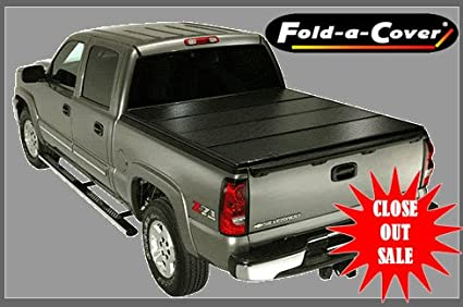 Fold A Cover >> Amazon Com Fold A Cover G4 4 Panel Tonneau Cover Fd3714 Automotive