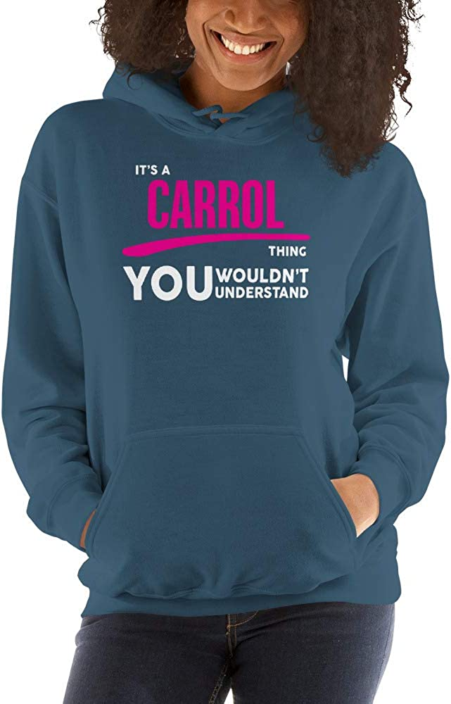 You Wouldnt Understand PF meken Its A Carrol Thing