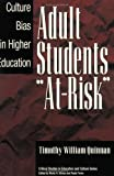 "Adult Students ""At-Risk"", Timothy William Quinnan, 0897895223"