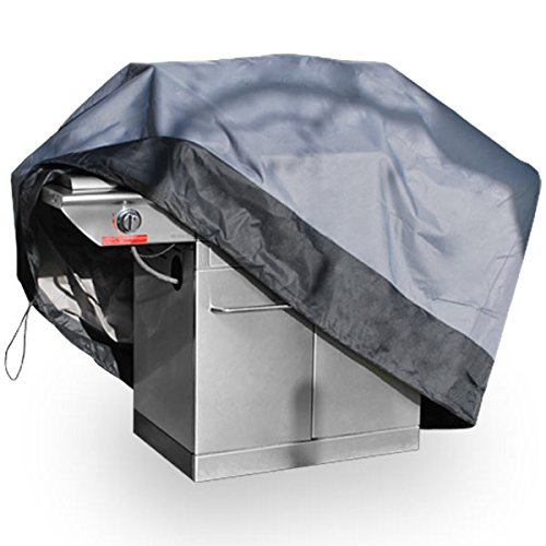 Premium Waterproof Barbecue Gas Propane Grill Cover Gray Small 44