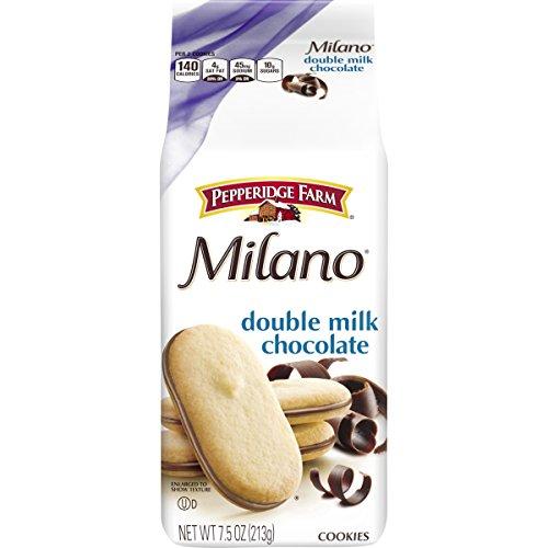 (Pepperidge Farm Milano Cookies, Double Milk Chocolate, 7.5 Ounce)