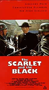 The Scarlet and the Black [VHS]