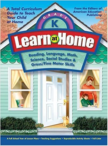 Learn at Home: Kindergarten: American Education: 9781561895083 ...