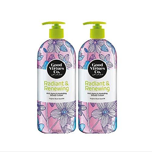 Good Virtues Co. Gift Set, Women Shower Cream for all Skin T