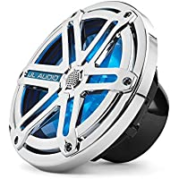 JL Audio MX770-CCX-SG-CLD-B 7.7 Marine Cockpit Coaxial System, Chrome Sports Grilles w/ Blue LED