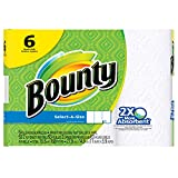 Select-A-Size Paper Towels, White, 6 Regular Rolls