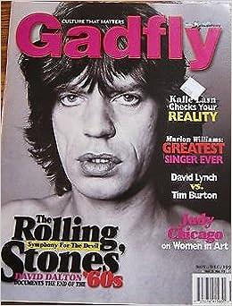 jayson whitehead  GADFLY Magazine MICK JAGGER cover [Nov/Dec 1999]: Jayson Whitehead ...