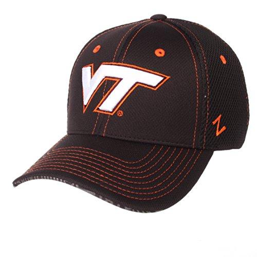Zephyr NCAA Virginia Tech Hokies Men's Undertaker Hat, Medium/Large, Black