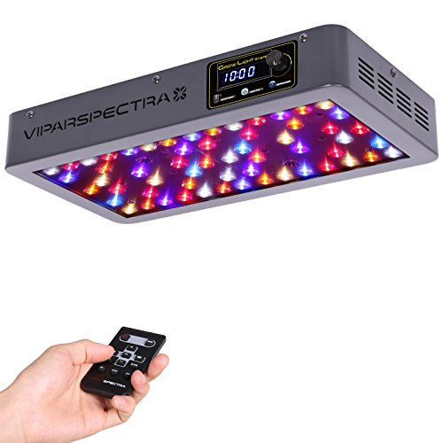 VIPARSPECTRA Timer Control Series VT300 300W LED Grow Light - Dimmable VEG/BLOOM Channels 12-Band Full Spectrum for Indoor Plants by VIPARSPECTRA