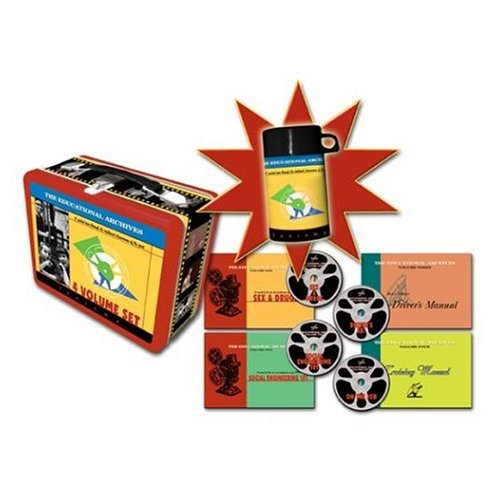 Educational Archives: Limited Edition Lunchbox (4 DVD Box Set) (Special Interest Dvds & Videos)