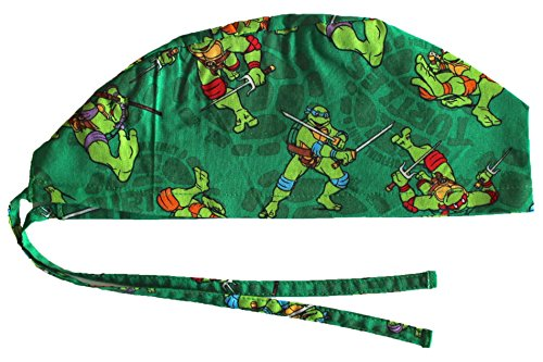 Hurricane Caps Scrub Cap, Ninja Turtles (Men Surgical Caps compare prices)