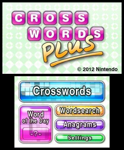 Crosswords PLUS - Nintendo 3DS (Certified Refurbished) by Nintendo (Image #2)