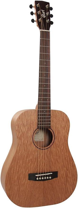 Cort Earth Mini M + Funda guitarra acústica Guitarra de viaje ...