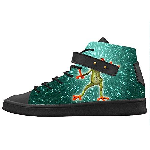 Custom Rana divertente Womens Canvas shoes Le scarpe le scarpe le scarpe. El Pago De Descuento Visa Comprar Barato Vista Envío Libre En Italia De Descuento Baja Tarifa De Envío Tienda De Venta Jf0YZSxO