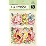 K&Company Watercolor Bouquet Layered Accents