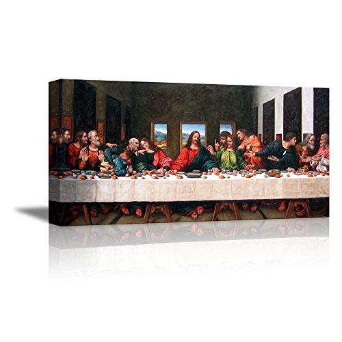 The Last Supper Halloween (wall26 - The Last Supper by Andrea Solari - Canvas Art Wall Decor - 18