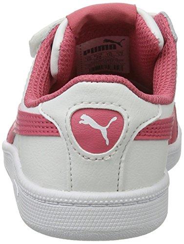 Puma Smash Fun L V Ps, Zapatillas Unisex Niños Blanco (White-rapture Rose)