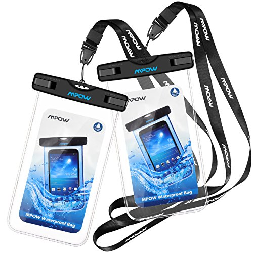 Mpow Waterproof Cases, New Type PVC Waterproof Phone Bag Pouch Dry Bag...