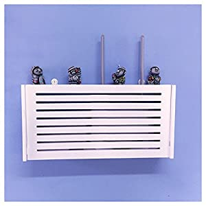 Perfect Wall Mount WiFi Router Storage Boxes Shelf Blind