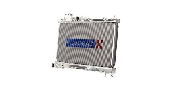 Koyo Racing Aluminum Radiator w// Cap for 1989-1992 Mazda RX-7 FC NA /& Turbo M//T