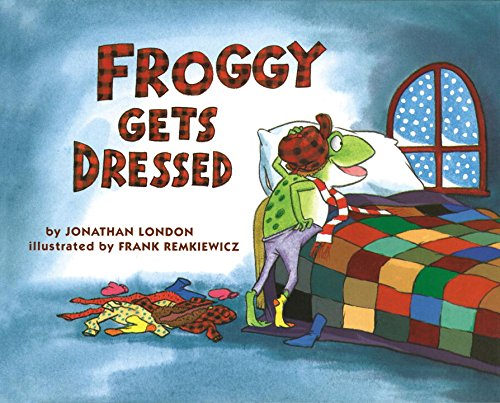 Froggy Gets Dressed [Jonathan London] (Tapa Blanda)