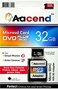 Aacend micro SD Card with Adapter 32GB