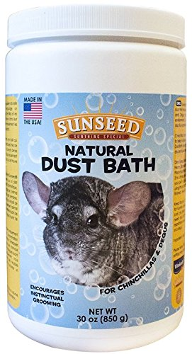 Sunseed Natural Dust Bath Chinchillas, 30 Ounce Container