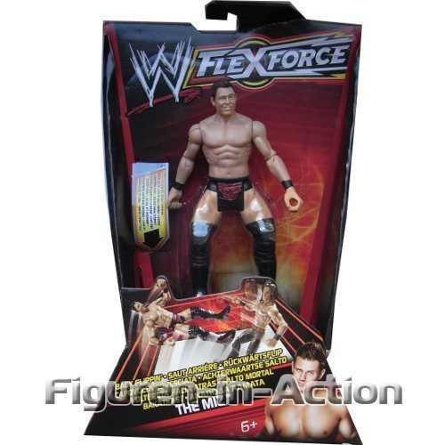 WWE W FLEXFORCE Do a Dropkick! Back Flippin' The Miz by Mattel