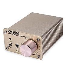 Hi-Fi Headphone Amplifier Meita Mini Stereo Audio Amplifier Adapter Dual SignalInput Amp Headphone Splitter w/ Double Source Portable