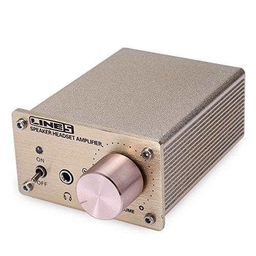 Meita Mini Hi-Fi Stereo Headphone Amplifier Portable Amp Headphone Splitter w/ Double Source