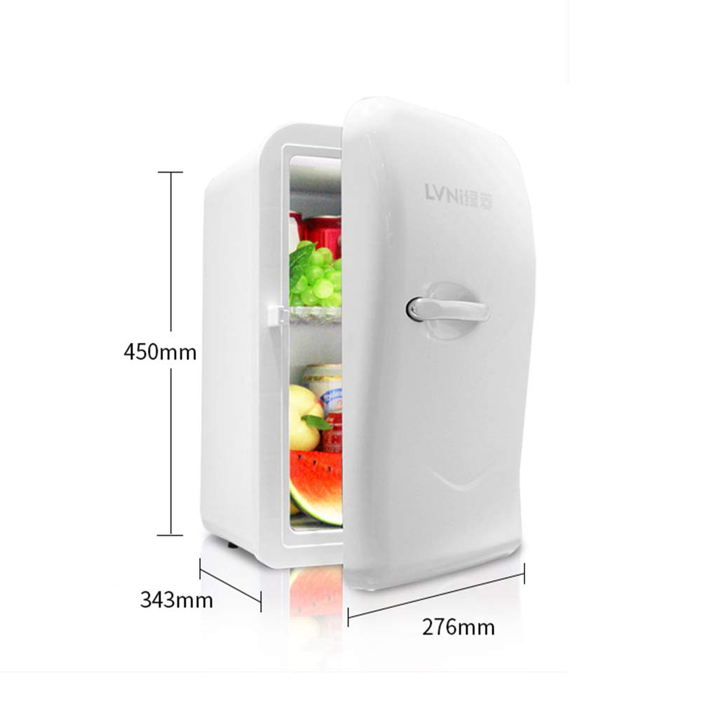 JHDUID Mini refrigerador portátil de sobremesa, refrigerador de ...