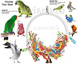"""""""Preen & Swing"""" Bird Toy - Stimulates Healthy Exercise and Satisfies a Bird's Preening Instinct - LARGE"""