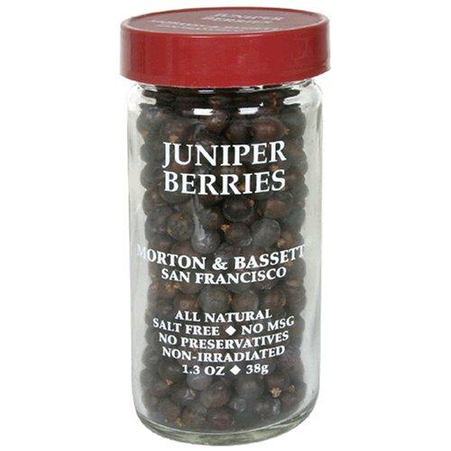 Morton & Bassett Juniper Berries, 1.3-Ounce Jars (Pack of 3)