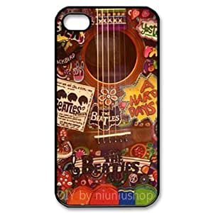 CTSLR Band The Beatles Hard Case Cover Skin for Apple iPhone 4/4s- 1 Pack - Black/White - 4 by lolosakes