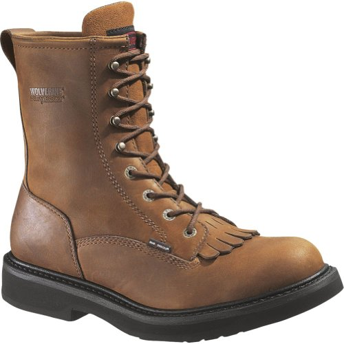 Lacer Steel Toe Electrical Hazard - Wolverine Men's Ingham DuraShocks Steel-Toe EH 8