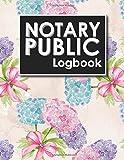 #8: Notary Public Logbook: Notary Book, Notary Public Journal, Notary Log Book, Notary Records Journal, Hydrangea Flower Cover (Volume 39)