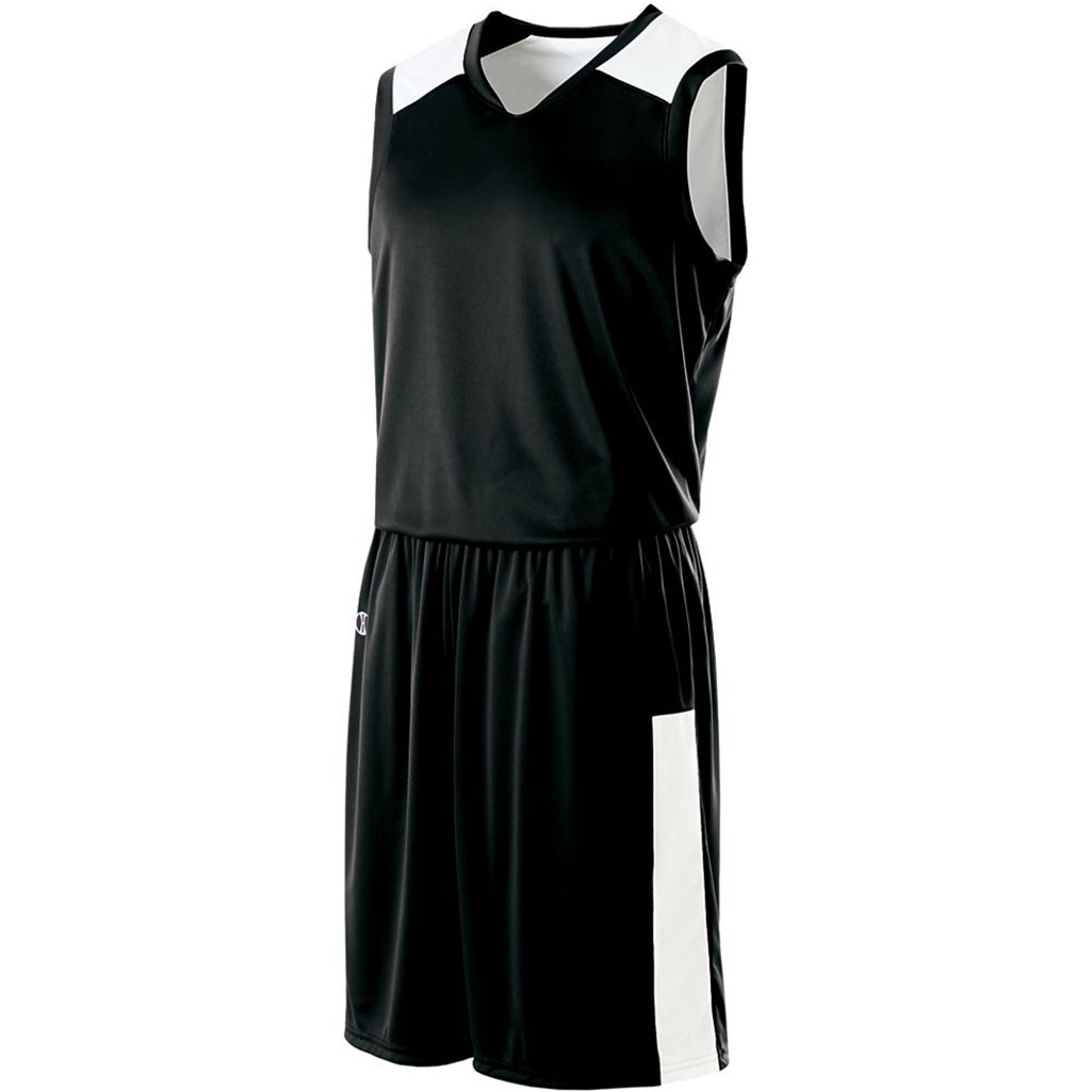 Holloway Reversible Nuclear Jersey (X-Large, Black/White) by Holloway
