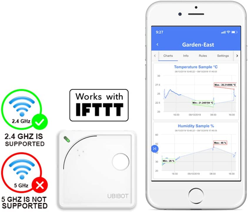 Ubibot WS1 WiFi Temperature Sensor