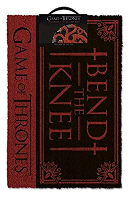 Pyramid International Game of Thrones Doormat Bend the Knee 40 x 57 cm Tappeti