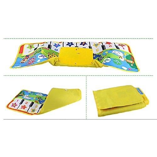 [해외]Ikevan 다기능 동물 음악 담요 새로운 터치 재생 키보드 뮤지컬 음악 노래 체육관 카펫 매트 교육 장난감 아이를위한 최고의 선물 아기/Ikevan Multifunctional Animal Music Blanket