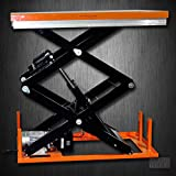 """Bolton Tools New Stationary Industrial Electric Powered Hydraulic Lift Table - 2200 Lb of Capacity - 94.49"""" Max Height - Model ETW1001"""
