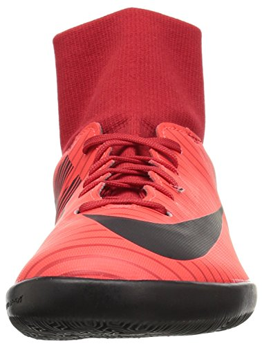 Nike Unisex-Kinder Jr. Mercurial X Victory 6 Dynamic Fit IC Fußballschuhe Mehrfarbig (University Red/Black-Bright Cr)