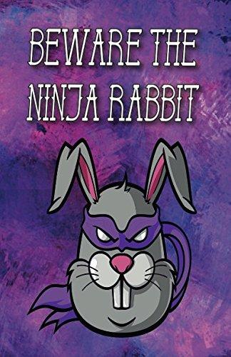 Beware the ninja rabbit: Writing journal, diary or planner ...