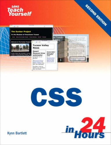 [PDF] Sams Teach Yourself CSS in 24 Hours, 2nd Edition Free Download | Publisher : Sams | Category : Computers & Internet | ISBN 10 : 0672329069 | ISBN 13 : 9780672329067