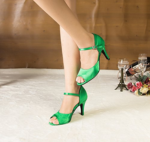 Minitoo femme Bride à la verde Verde cheville CzxpqCgnTW