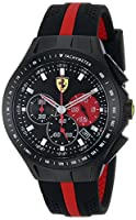 Ferrari Men's 0830023 Race Day Analog Display Quartz Black Watch