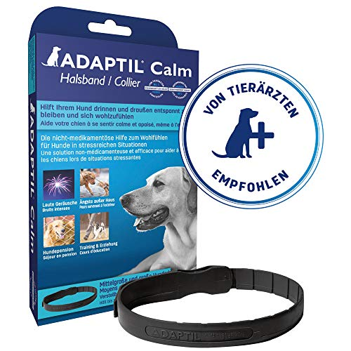 Adaptil Calm On-The-Go-Collar (Small) - Constant Calming & Comfort Everywhere (Packaging may vary)